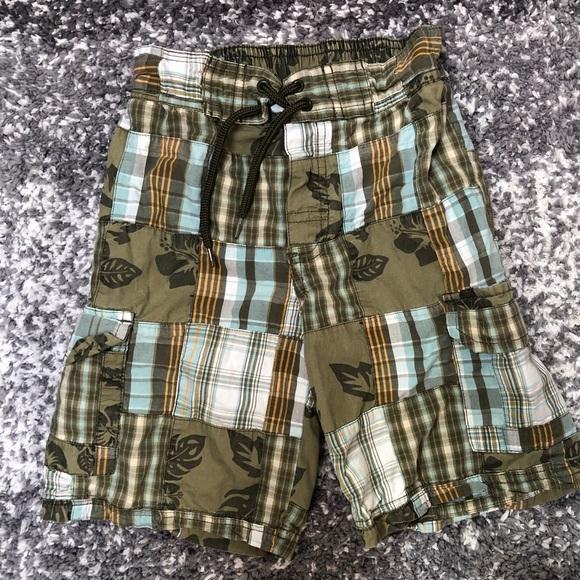 bc6dc3132d Gymboree Bottoms   Boys Tropical Plaid Shorts   Poshmark